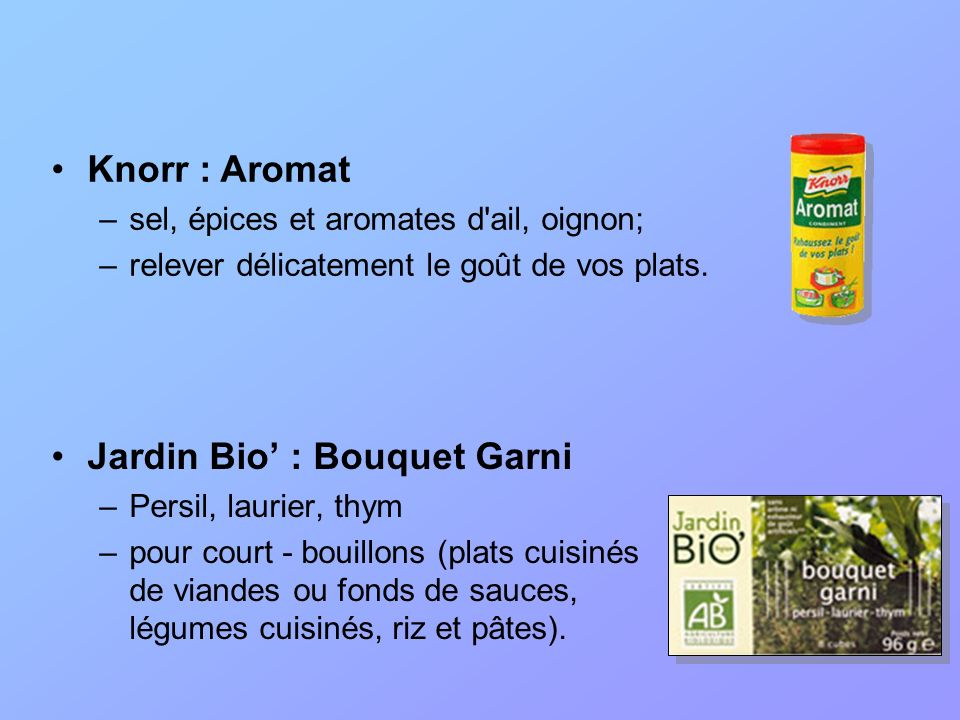 Tablettes Origine : le KubOr de Maggi –Lancé en 1908 en France –Précurseur dune gamme de bouillons et fonds de sauce, pour rehausser le goût de ses plats