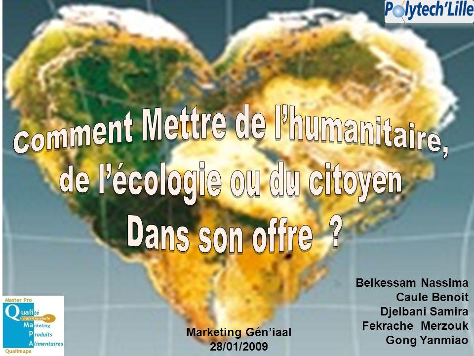 c) Toucher de nouvelles cibles Exemple : Lassociation Nationale de Développement des Epiceries Solidaires (ANDES).