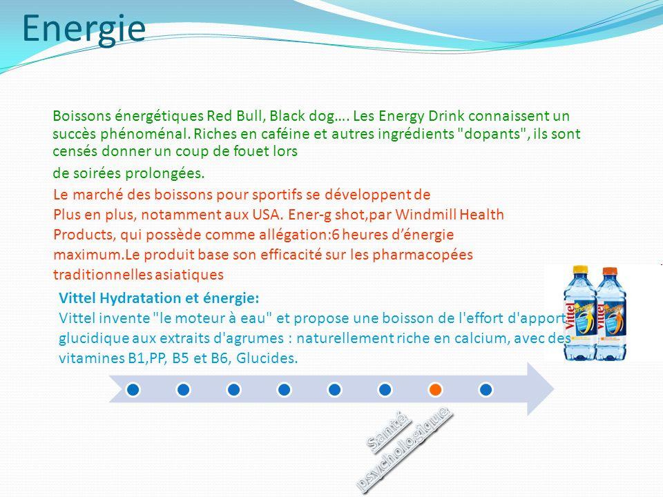 Energie Boissons énergétiques Red Bull, Black dog…. Les Energy Drink connaissent un succès phénoménal. Riches en caféine et autres ingrédients