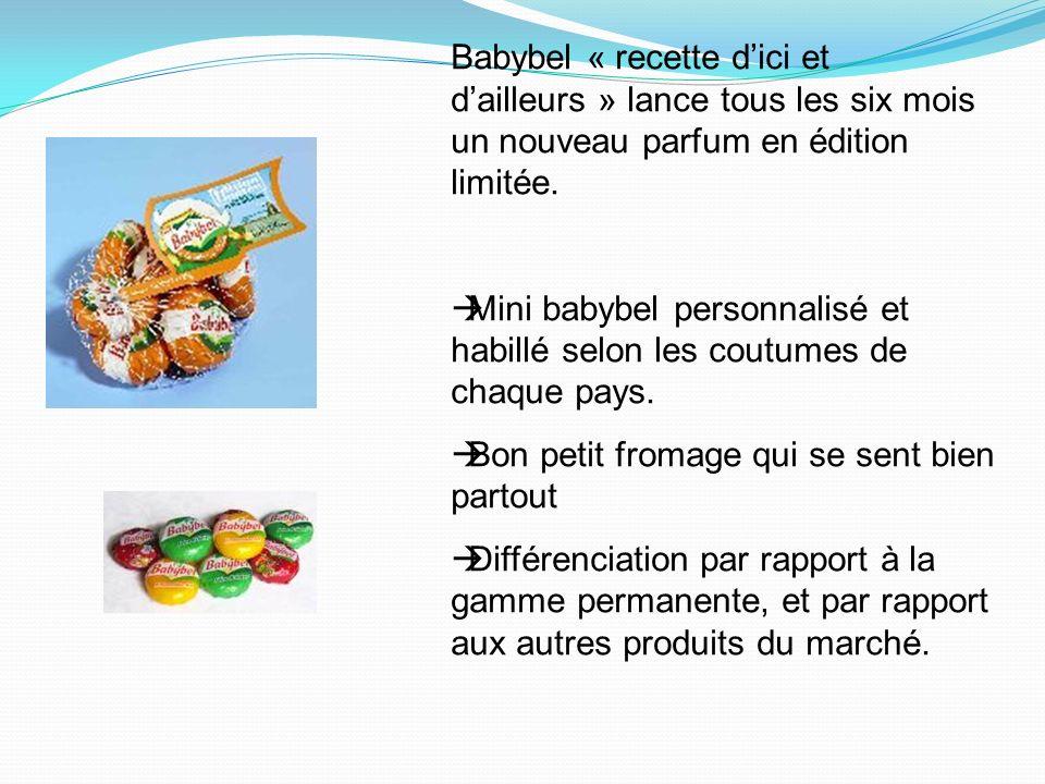 Babybel « recette dici et dailleurs » lance tous les six mois un nouveau parfum en édition limitée.