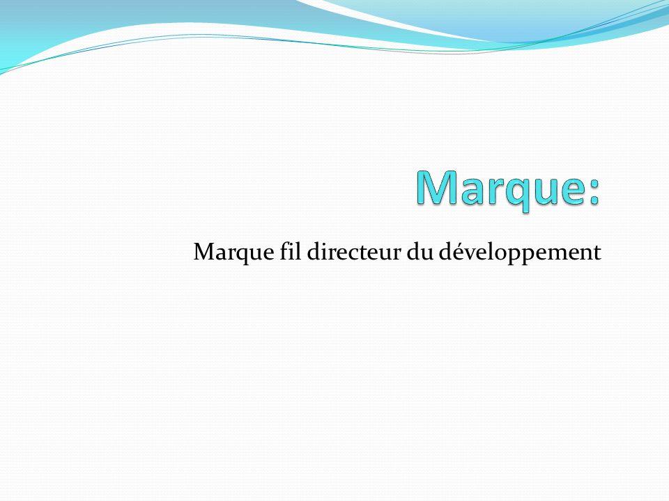 Marque fil directeur du développement