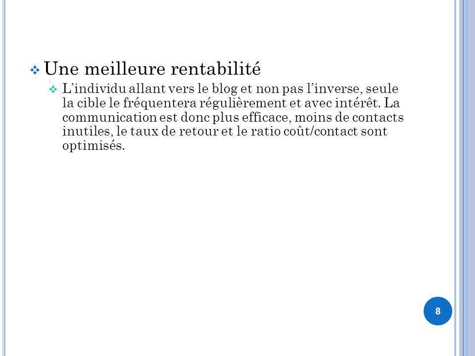 E XEMPLES DE PAGES D ENTREPRISES 49 La page Nivea France sur Facebook est utilisée comme outil de relai, on le voit clairement avec la première publication qui renvoie sur son site.