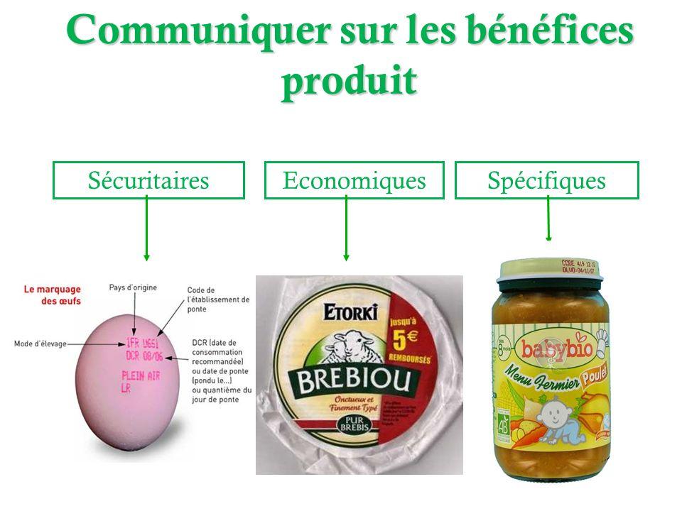 SécuritairesEconomiquesSpécifiques Fromage de chève avec réductionAliment Bébé Bio Communiquer sur les bénéfices produit