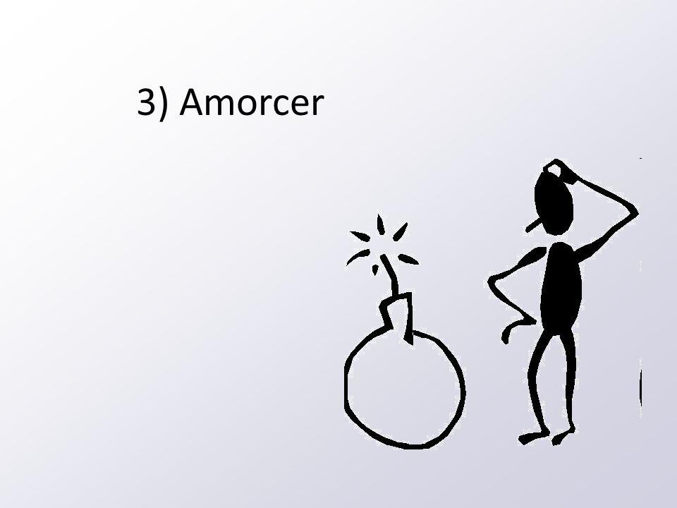 3) Amorcer