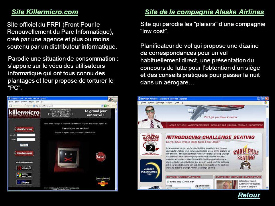 Site Killermicro.com Site officiel du FRPI (Front Pour le Renouvellement du Parc Informatique), créé par une agence et plus ou moins soutenu par un di