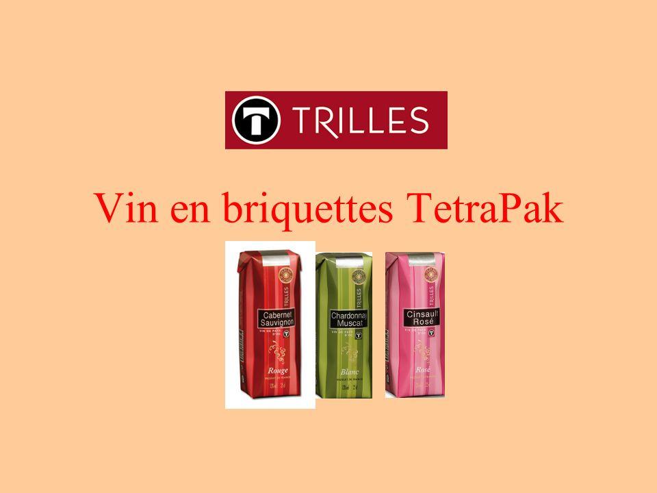Vin en briquettes TetraPak