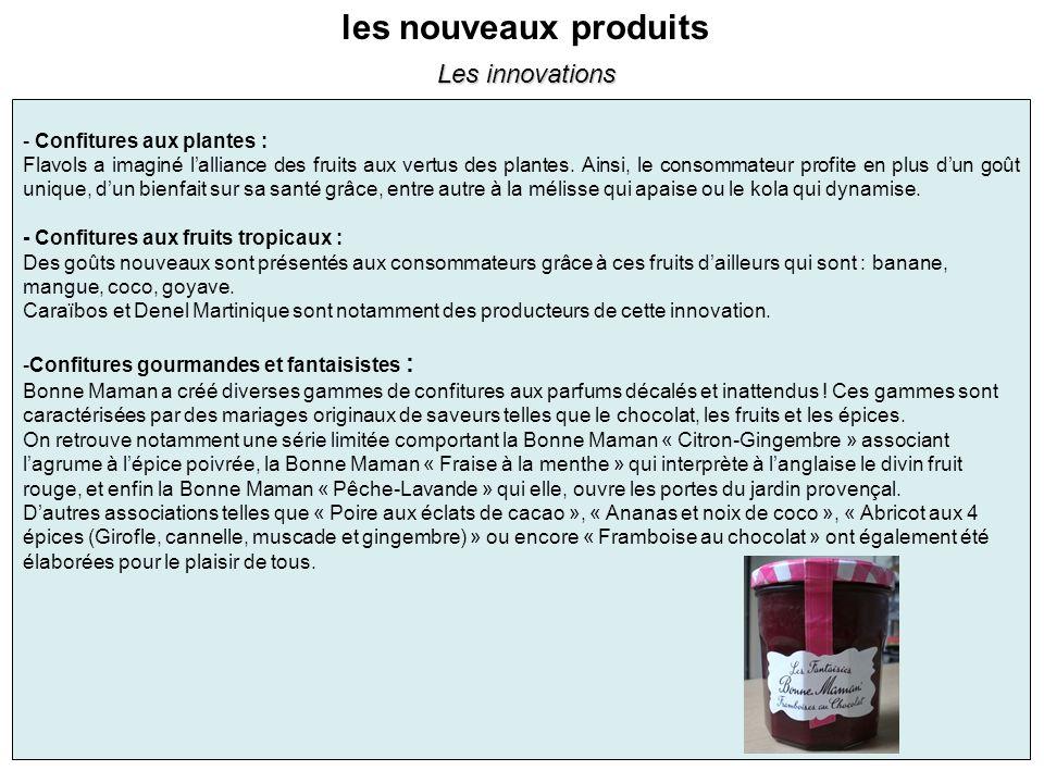 les nouveaux produits - Confitures aux plantes : Flavols a imaginé lalliance des fruits aux vertus des plantes. Ainsi, le consommateur profite en plus