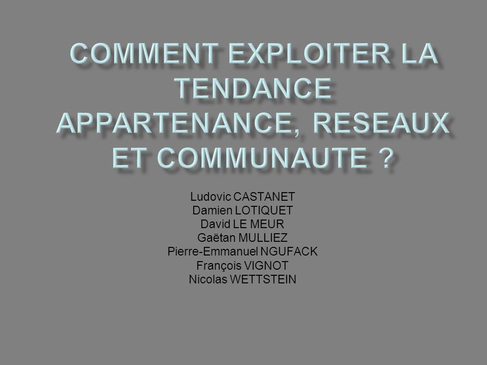 Ludovic CASTANET Damien LOTIQUET David LE MEUR Gaëtan MULLIEZ Pierre-Emmanuel NGUFACK François VIGNOT Nicolas WETTSTEIN