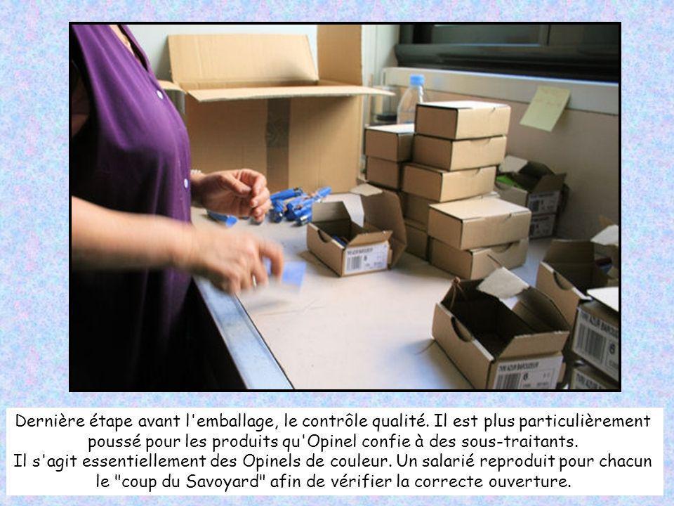 Opinel exporte près de 45% de sa production à l'étranger. Le premier acheteur est l'Italie qui truste 10% des volumes à l'export. En France, les régio