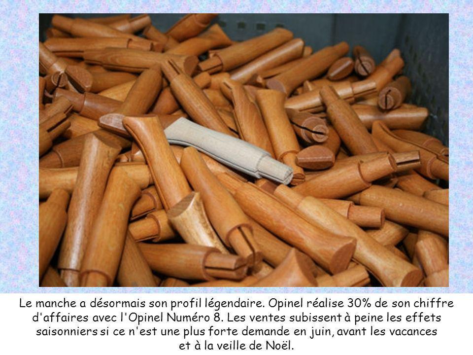 Implanté lors de sa fondation en Maurienne, Opinel s est très vite rapproché des nœuds de communication (routes, gares) pour finalement s implanter à Chambéry.