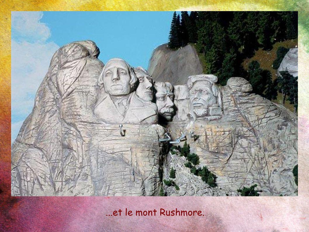 ...et le mont Rushmore.