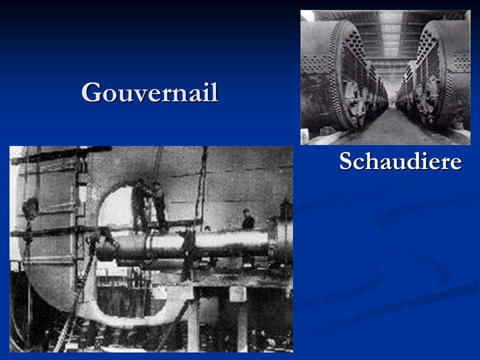 Gouvernail Schaudiere