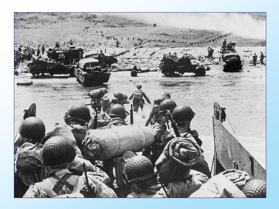 Le débarquement allié en Normandie a conduit à la libération de la France, tournant décisif dans le théâtre dopération de l Ouest Européen dans la seconde guerre mondiale.