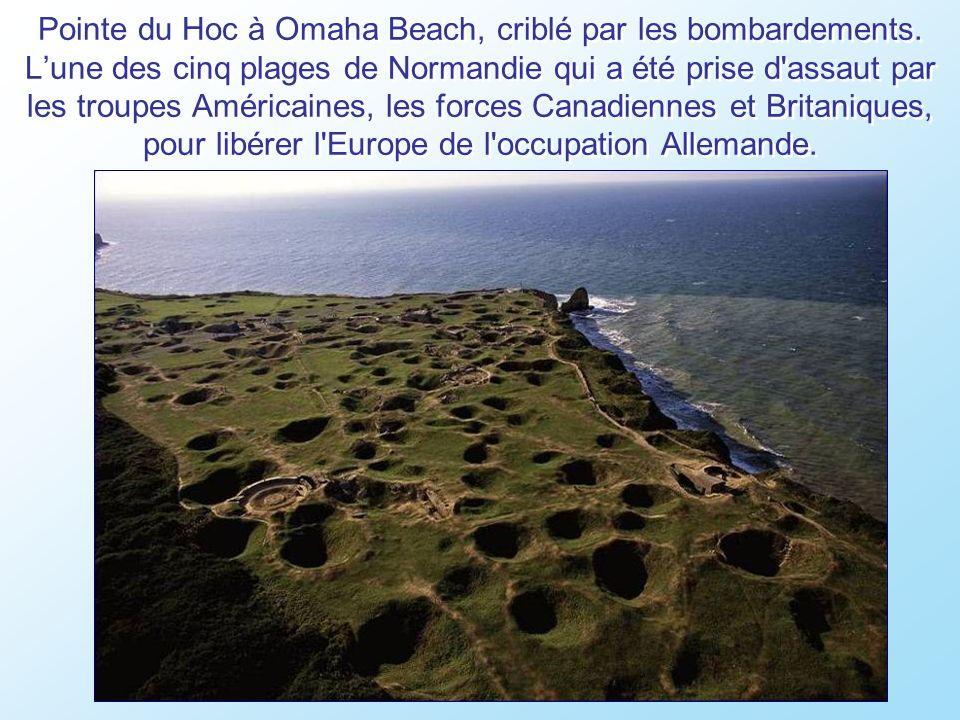 Omaha Beach, ou plus de 9.000 soldats américains sont mort