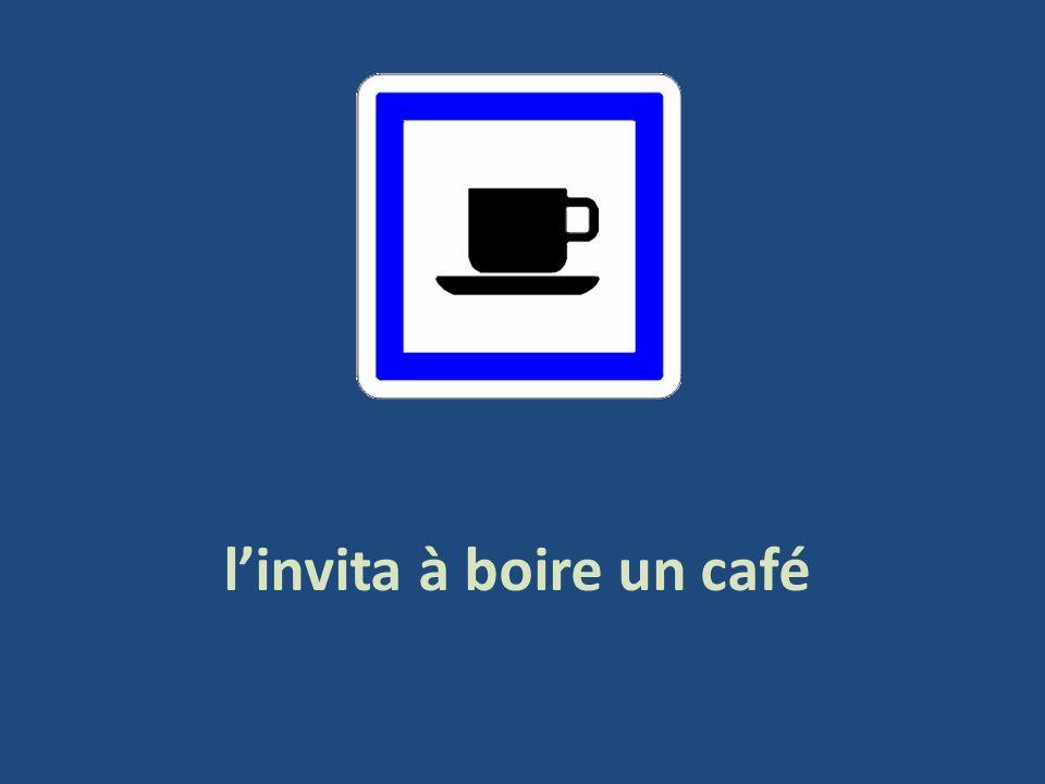 linvita à boire un café