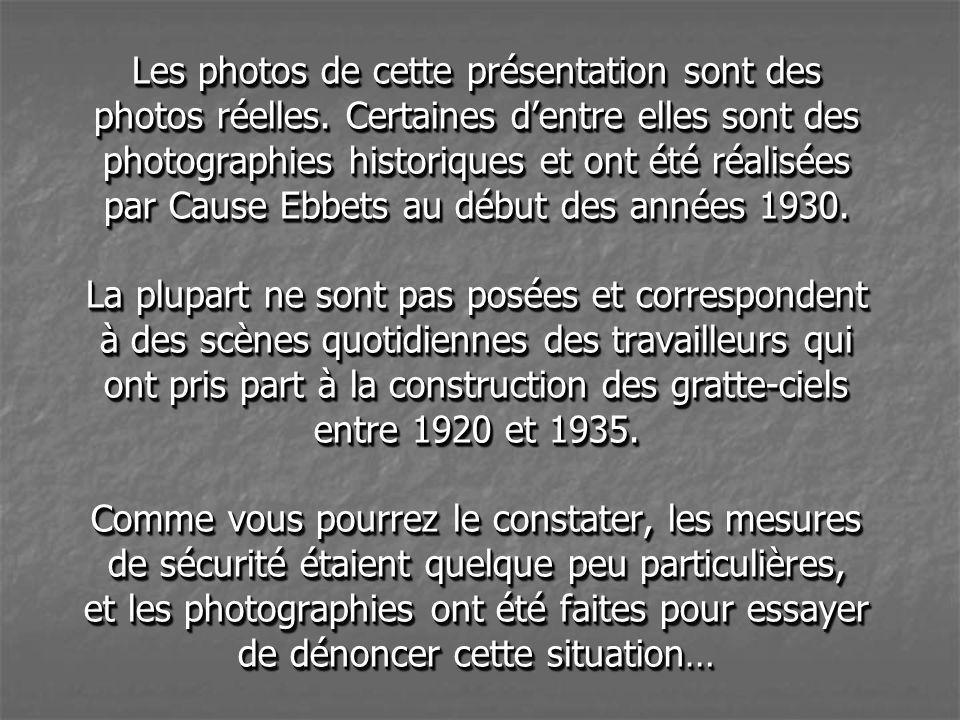 DÉJEUNER AU SOMMET DU GRATTE-CIEL DANS L AMÉRIQUE DES ANNÉES 30...