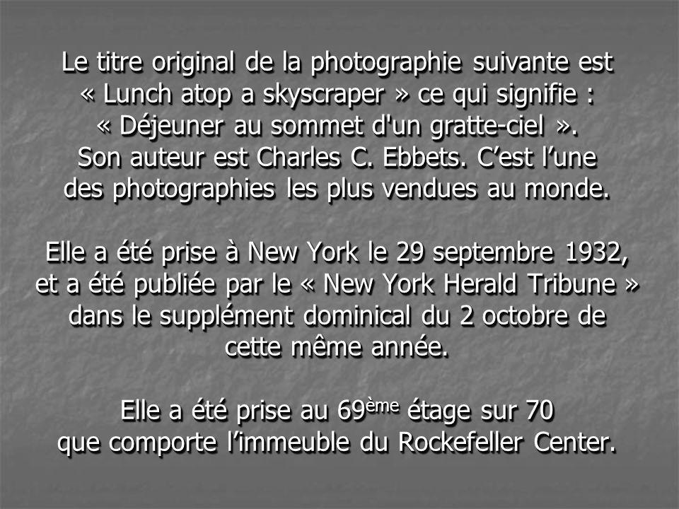 Les photos de cette présentation sont des photos réelles. Certaines dentre elles sont des photographies historiques et ont été réalisées par Cause Ebb