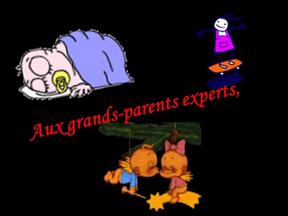Aux nouveaux grands-parents…