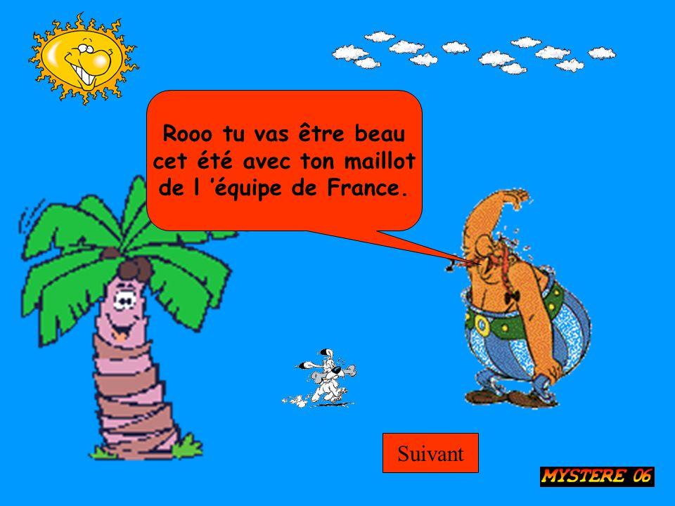 Rooo tu vas être beau cet été avec ton maillot de l équipe de France. Suivant