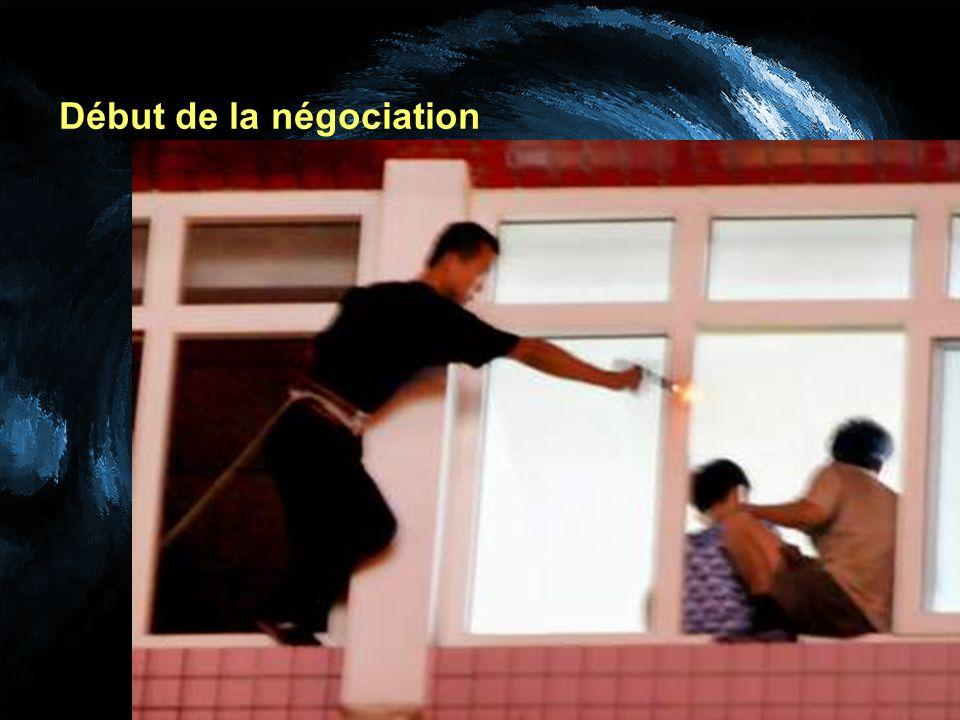 Début de la négociation
