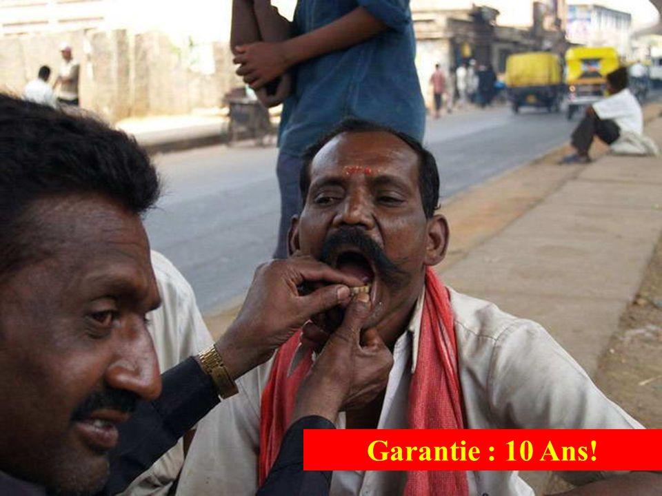 Garantie : 10 Ans!