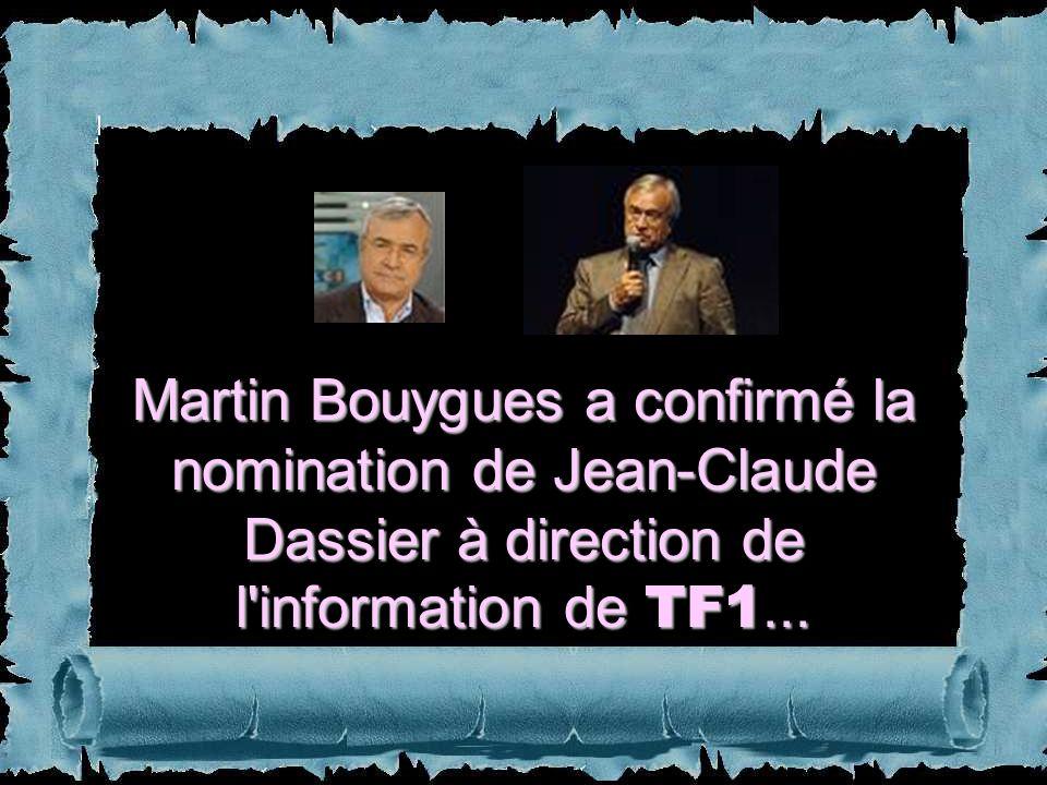 Le 20h de TF1 est la principale source d'information des Français. Il atteint souvent 40 % de parts de marché (environ 8 millions de téléspectateurs)