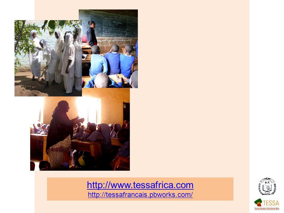 http://www.tessafrica.com http://tessafrancais.pbworks.com/