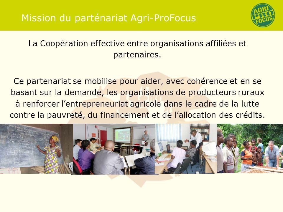 But de la visite au Niger Expliquer la mission dAgri-ProFocus (APF) aux partenaires Discuter avec les partenaires APF comment à développer le processus du Country Focus Programme.