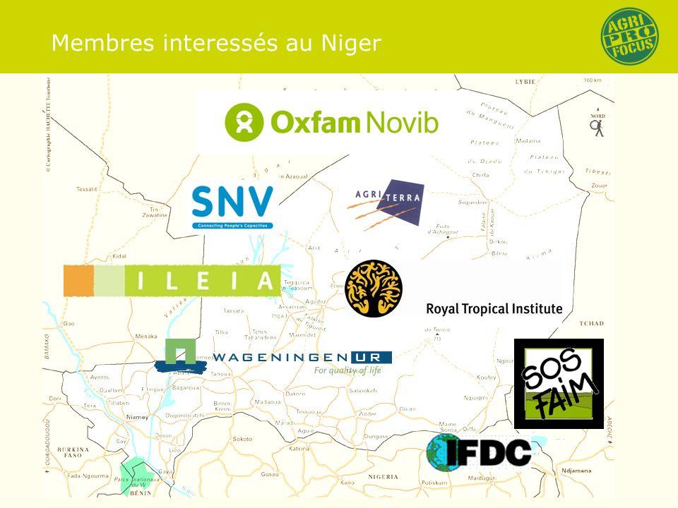 Membres interessés au Niger