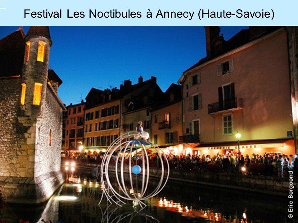 Festival Les Noctibules à Annecy (Haute-Savoie)