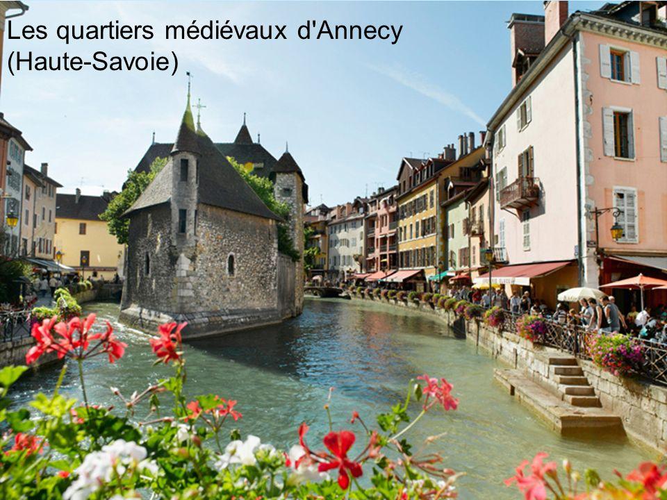Les quartiers médiévaux d'Annecy (Haute-Savoie)