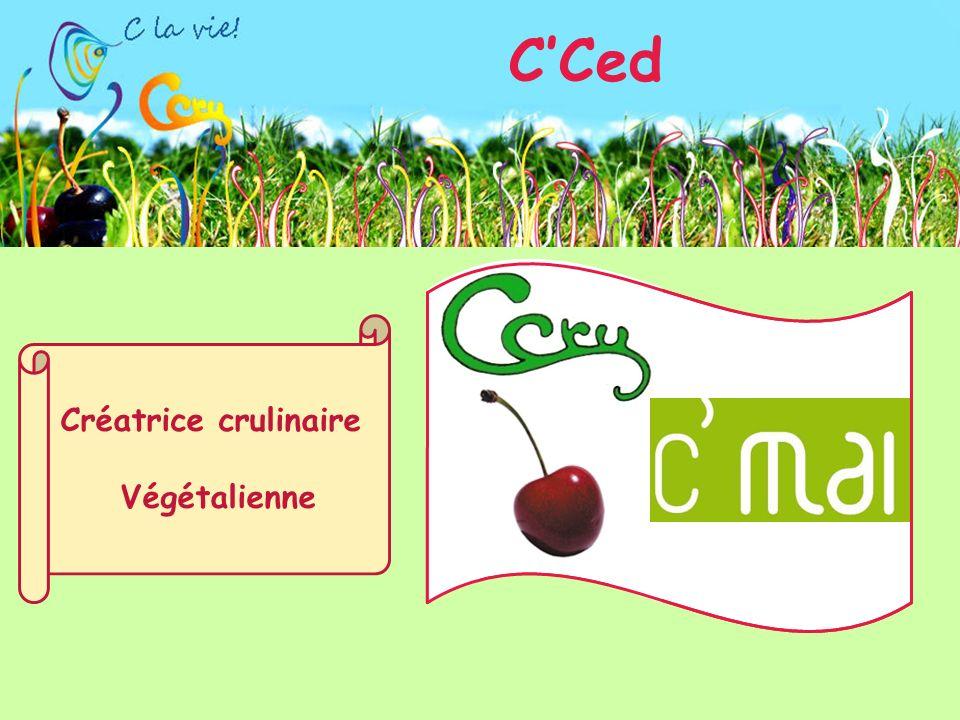 Créatrice crulinaire Végétalienne CCed