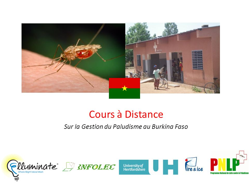Les Partenaires 2 University of Hertfordshire, Hatfield, UK Elluminate, Inc., Calgary, AB, Canada Burkina Faso