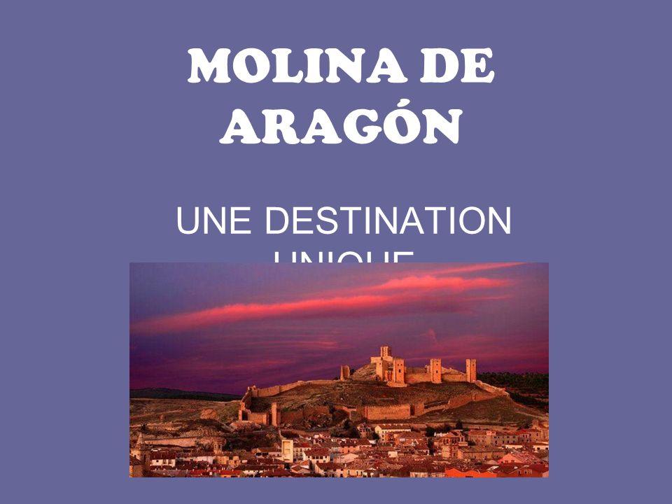 MOLINA DE ARAGÓN UNE DESTINATION UNIQUE