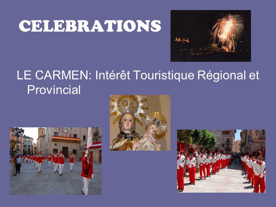 CELEBRATIONS LE CARMEN: Intérêt Touristique Régional et Provincial