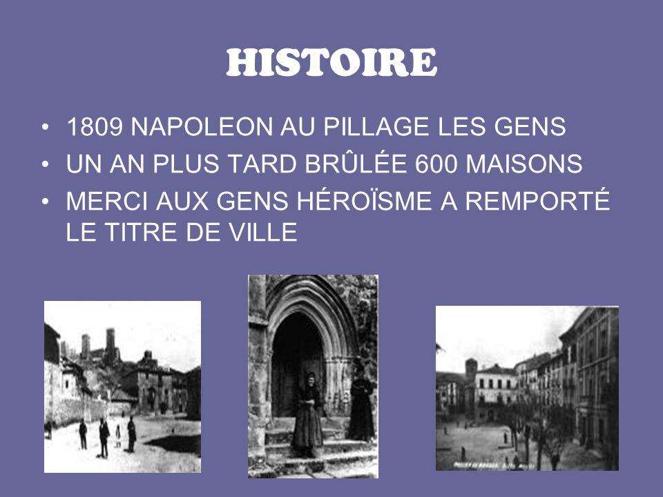HISTOIRE 1809 NAPOLEON AU PILLAGE LES GENS UN AN PLUS TARD BRÛLÉE 600 MAISONS MERCI AUX GENS HÉROÏSME A REMPORTÉ LE TITRE DE VILLE
