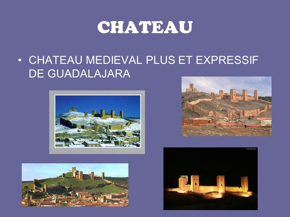 CHATEAU CHATEAU MEDIEVAL PLUS ET EXPRESSIF DE GUADALAJARA