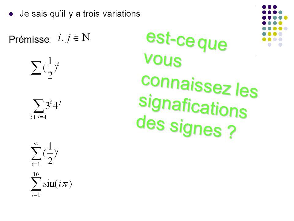 Je sais quil y a trois variations est-ce que vous connaissez les signafications des signes est-ce que vous connaissez les signafications des signes Pr