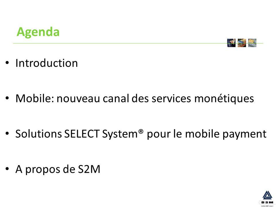 Le mobile payment Nouveau canal des services monétiques
