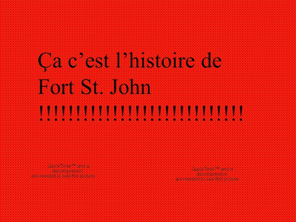Après presque quarante ans, Fort St. John était rouvert en 1860 sur le côté sud de Peace River, au sud de l'actuelle communauté. Ç a été proposé par F
