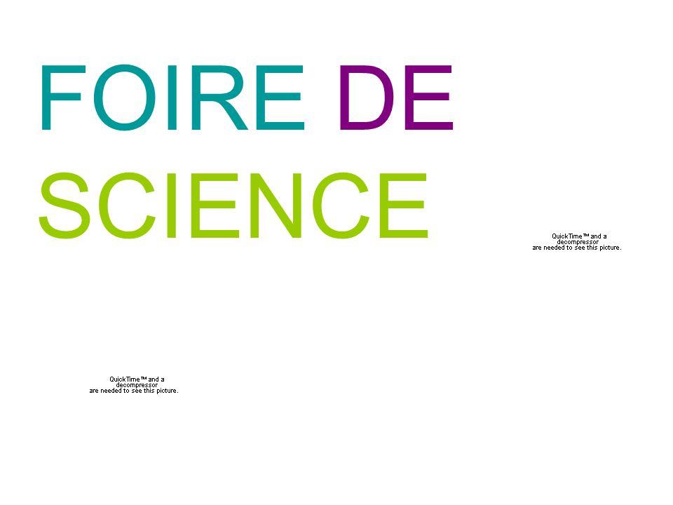 FOIRE DE SCIENCE