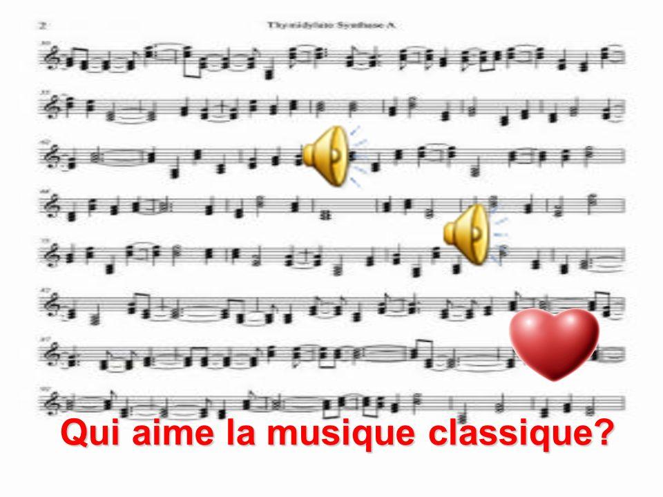 une guitare un violon une clarinette un saxophone un piano une batterie Download soundfile for this slide here from Babelzone Cest quel genre de musique?