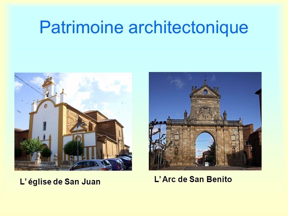 Patrimoine architectonique L église de San Juan L Arc de San Benito