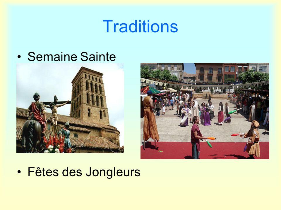 Traditions Semaine Sainte Fêtes des Jongleurs