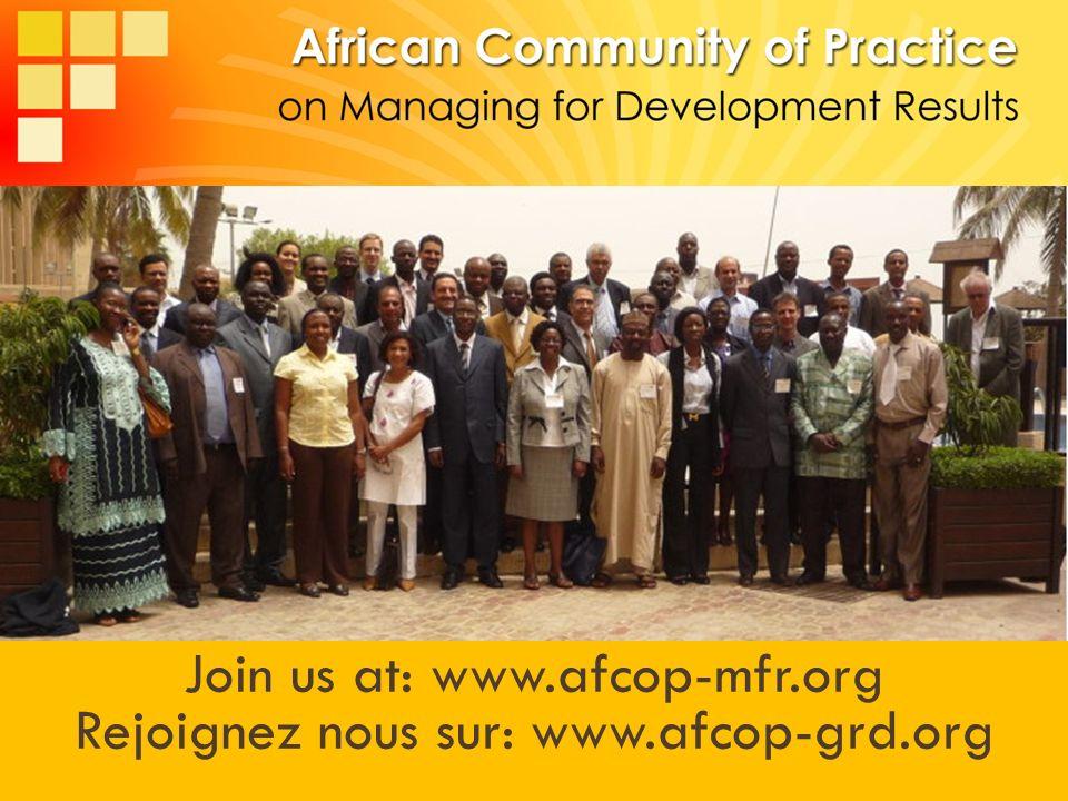 Visit : www.afcop-mfdr.org Contact : info@afcop-mfdr.org Join us at: www.afcop-mfr.org Rejoignez nous sur: www.afcop-grd.org