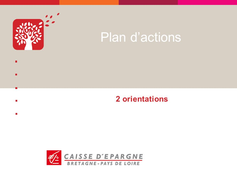Plan dactions 2 orientations