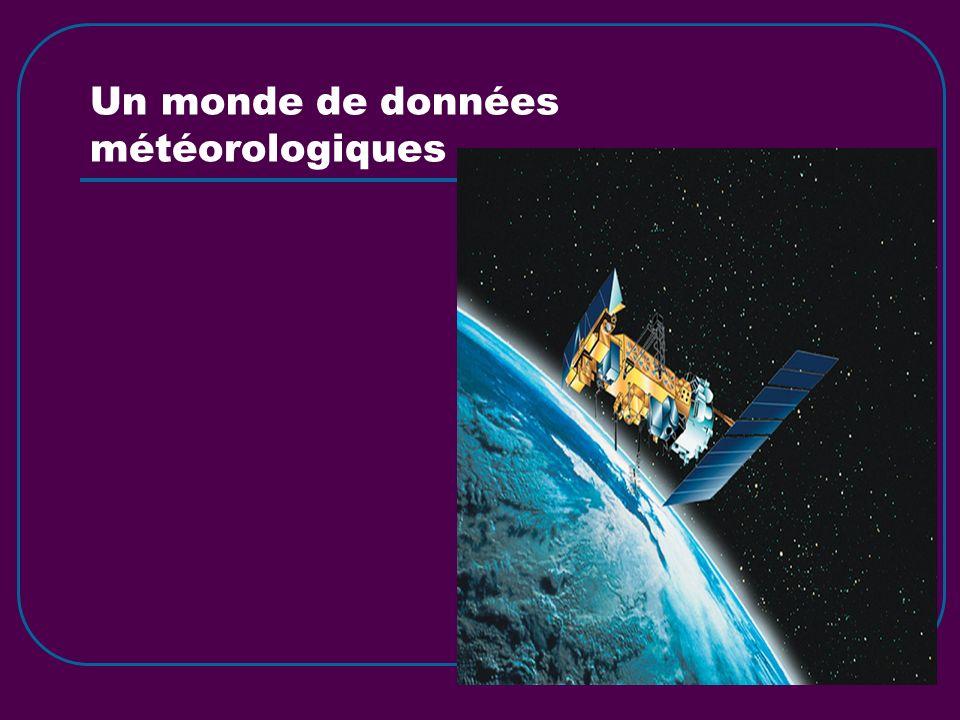 Un monde de données météorologiques