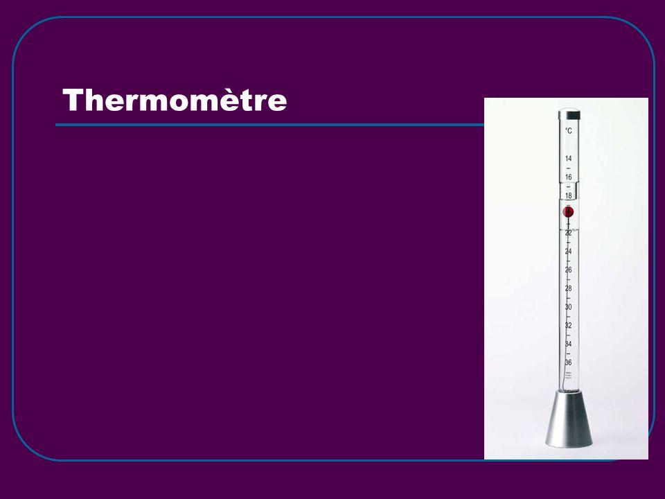 Psychromètre fronde Il contient deux thermomètres à lalcool: