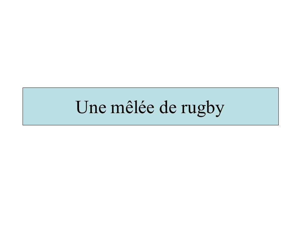 Une mêlée de rugby