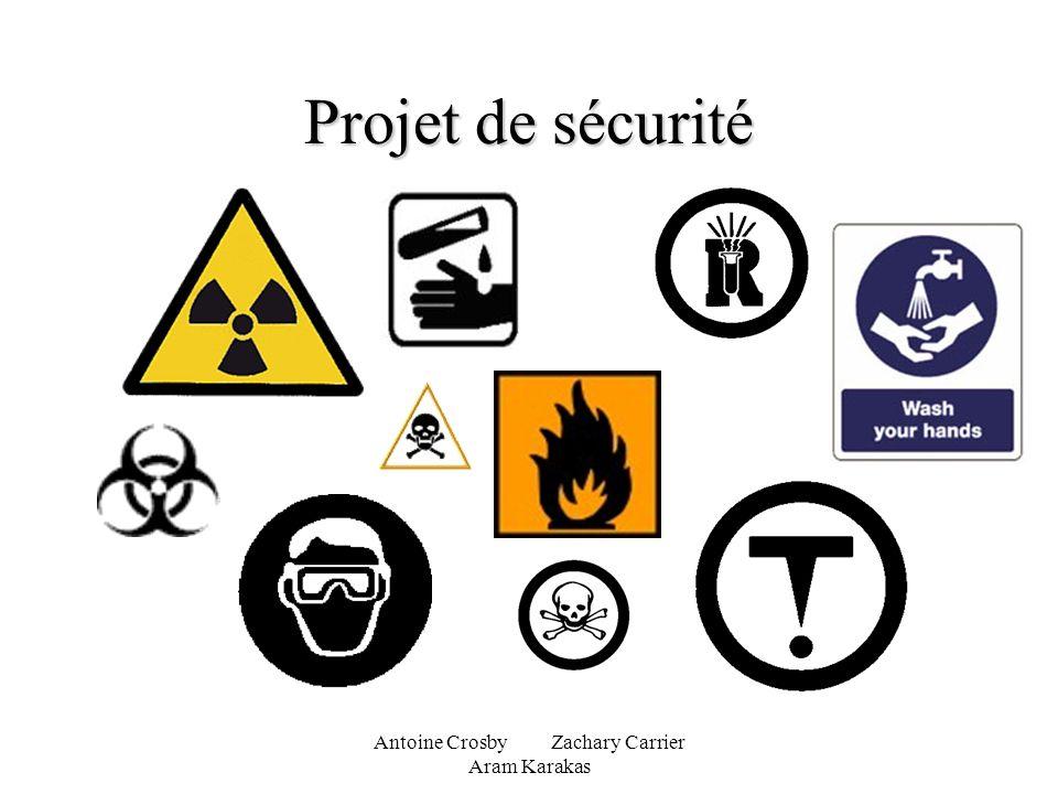 Antoine Crosby Zachary Carrier Aram Karakas Projet de sécurité